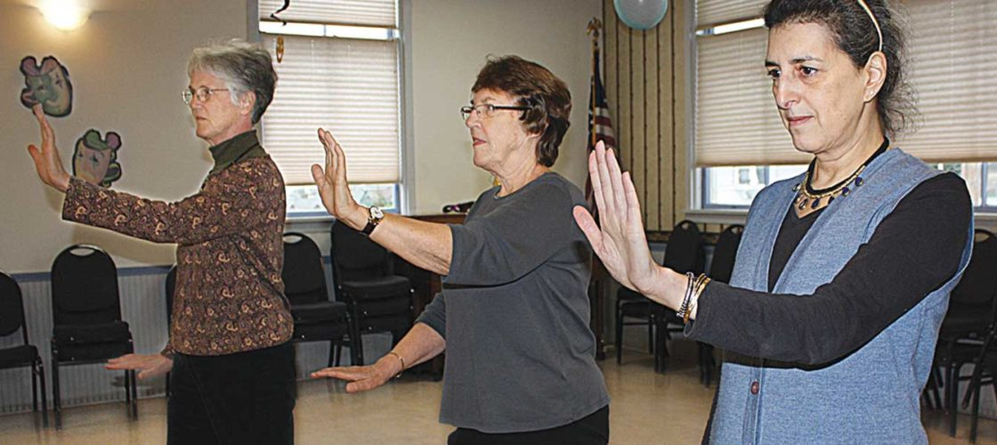 Tai Chi for Arthritis class