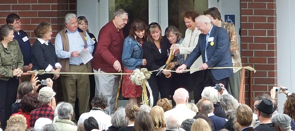 Alzheimer's Center Grand Opening in 2009