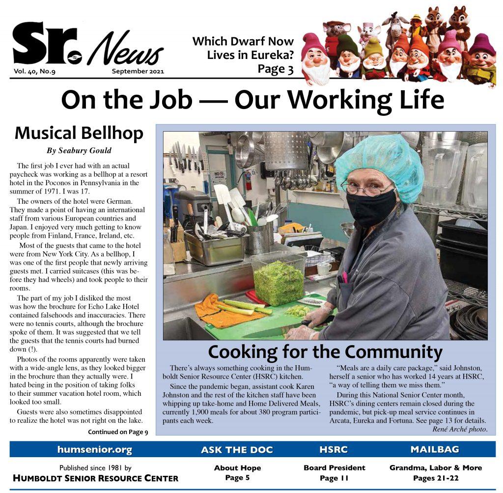 Senior News page 1 September 2021
